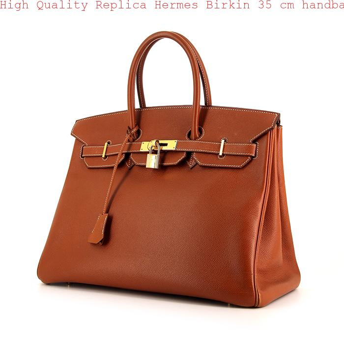 High Quality Replica Hermes Birkin 35 cm handbag in gold epsom leather 1cceb2ec7