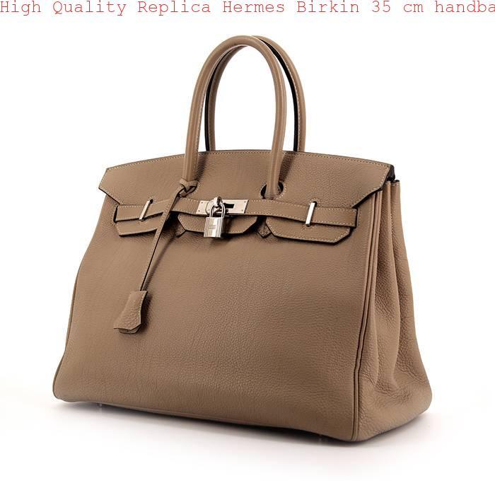 High Quality Replica Hermes Birkin 35 cm handbag in grey togo leather 1719f00b3c25